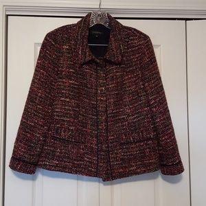 Talbots tweed blazer,  size 12